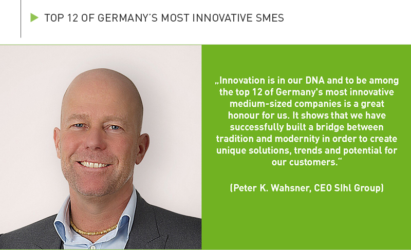 TOP 12 of Germany's most innovative SMEs