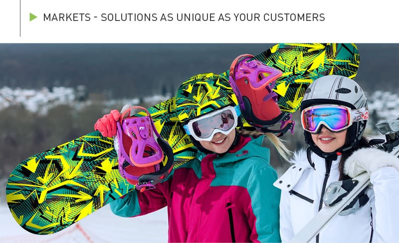 Markets - Solutions as unique as your customers