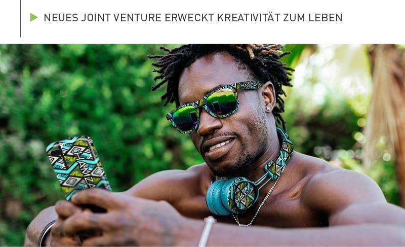 Neues Joint Venture erweckt Kreativität zum Leben