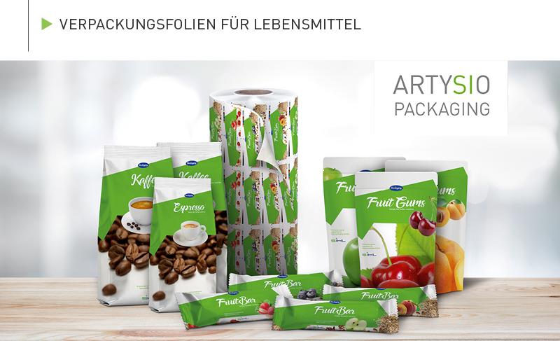 Bedruckte, individualisierte Verpackungsfolien für Lebensmittel